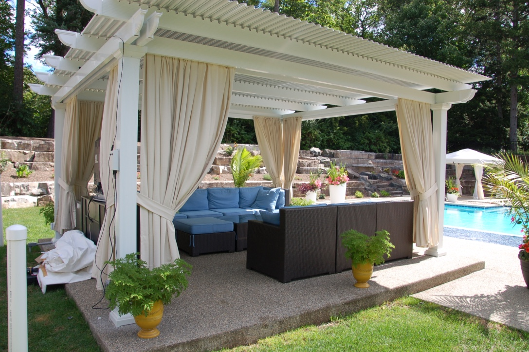 Operable Pergola Electric Adjustable Patio Cover